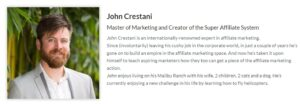 John Crestani Super Affiliate System Review